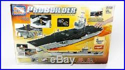 Mega Bloks ProBuilder Master Series 9795 USS Nimitz Aircraft Carrier NEW SEALED