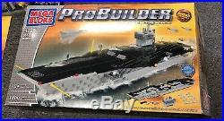 Mega Bloks ProBuilder Master Series USS Nimitz 9795 Aircraft Carrier MissingJets