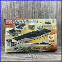 Mega Bloks ProBuilder Master Series USS Nimitz 9795 Aircraft Carrier With Jets
