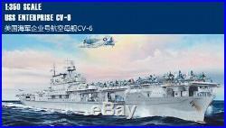 Merit 1/350 65302 USS CV-6 Enterprise Carrier Aircraft model kit
