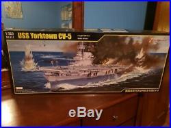 Merit 1/350 USS Yorktown CV-5 Aircraft Carrier Model