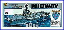 Micro Ace USS Aircraft Carrier No. 8 Midway CVA-41 1/800 Scale Plastic Model Kit