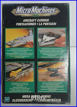 Micro Machines Military Action Hasbro 2001 AIRCRAFT CARRIER unopened see cond