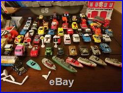 Micro Machines lot, cities, Aircraft Carrier, Cars Planes, Boats, monster truck