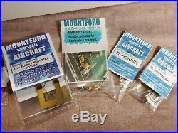Mountford Miniatures USN Gerald R Ford CVN78 11250 Scale Model Aircraft Carrier