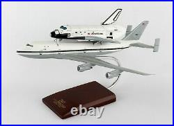 NASA Boeing B-747 Carrier With Space Shuttle Discovery 14 Wood Model Aircraft