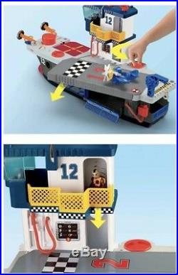 NEW Fisher Price Imaginext Sky Racers Aircraft Carrier Moving Toy Plane Figures