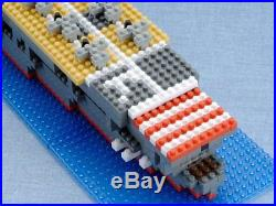 Nano-block WWII JAPAN PACIFIC WAR Japanese aircraft carrier Akagi Kid Toy F/S