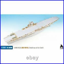 New 1/350 HMS Aircraft carrier Ark Royal (ME) PHOTO ETCHED PARTS PIT-ROAD JPN