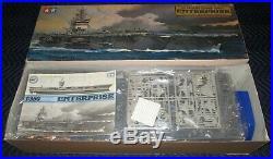 New! 1350 Cvn-65 Uss Enterprise U. S. Aircraft Carrier 1985 Tamiya 7307