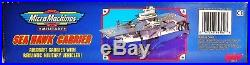 New Sea Hawk Aircraft Carrier 1994 Galoob Micro Machines Military Playset Nib