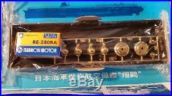 Nichimo 1/500 scale Shokaku Aircraft Carrier Model Kit U-5015 motorized
