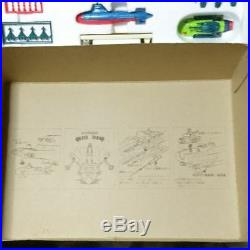 Nomura Toy in 1978 made Space carrier aircraft Bruneoa Union DX From JAPAN F/S