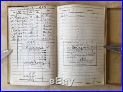ORIGINAL EARLY U. S. NAVY AIRCRAFT CARRIER HISTORY AVIATORS LOG BOOK c1928-37
