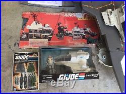 Original 1985 G. I. Joe USS Flagg Aircraft Carrier Near Complete with extras