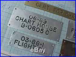 Original Wwii Metal Door Plaques Plates From Aircraft Carrier