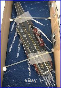 Professionally Built Trumpeter 1/700 Kuznetsov Aircraft Carrier