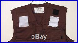 RARE US Navy Aircraft Carrier Deck Crew Vest COVER Type Mark 1 Military Gear