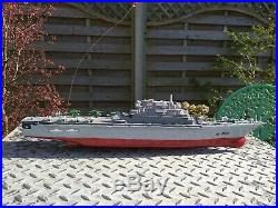 RC Remote Control Aircraft Carrier Boat Battleship Ship Warship Model HT-2878A