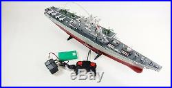 Radio Remote Control Boat Navy War Aircraft Carrier Warship Boat RTR 1275 Scale