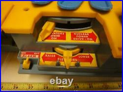 Rare! Remco Battery Operated Mighty Matilda, Motorized Aircraft Carrier. Works