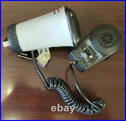 Rare Vintage 1985 G. I. Joe USS Flagg Aircraft Carrier Microphone with Metal Case