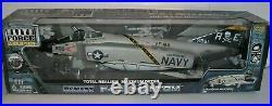 Retired 1/32 BBi Elite Force US Navy VF-84 F-4 PHANTOM Carrier Fighter Jet F4 J
