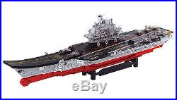 Sluban Large Aircraft Carrier Army Navy Ship Jet Plane B0388 Building Blocks NEW