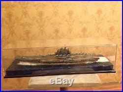 Soviet/Russian Admiral Kuznetsov aircraft carrier with diorama