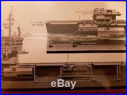 TAMIYA 1/350 U. S. S. ENTERPRISE CVN 65 AIRCRAFT CARRIER KIT NO 78007 Vintage 1984