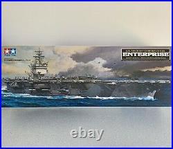 TAMIYA 1350 USS ENTERPRISE CVN-65 AIRCRAFT CARRIER US NAVY Brand New