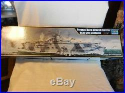 TRP05627 1350 Trumpeter German Navy Aircraft Carrier DKM Graf Zeppelin Kit