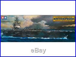 Tamiya 1/350 Ship US Navy Nuclear Aircraft Carrier Enterprise Plastic Model