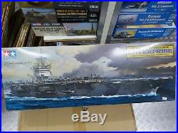 Tamiya 1/350 U. S. Aircraft Carrier Enterprise Model Ship Kit #78007
