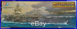 Tamiya 1/350 USS Enterprise CVN Aircraft Carrier Kit