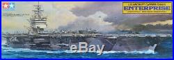 Tamiya 1350 US Aircraft Carrier CVN 65 Enterprise Plastic Model Kit #78007