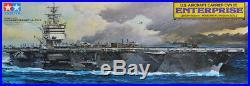 Tamiya 1350 US Aircraft Carrier CVN 65 Enterprise Plastic Model Kit #78007U