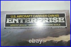 Tamiya 1350 Uss Enterprise Cvn-65 Aircraft Carrier Us Navy