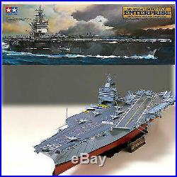 Tamiya 78007 1/350 USS Enterprise Aircraft Carrier Model Kit