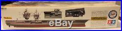 Tamiya US Aircraft Carrier Enterprise 1/350 Model Kit + 4 extra models NEW