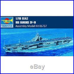 Trumpeter 05737 05610 1/700 1/350 Scale USS Hancock CV-19 Aircraft Carrier Model