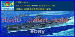 Trumpeter 1/350 05602 U. S. Aircraft Carrier CV-9 Essex model kit