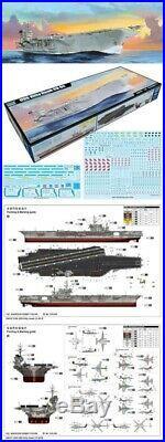 Trumpeter 1/350 05619 USS Kitty Hawk CV-63 Aircraft Carrier Model Kit