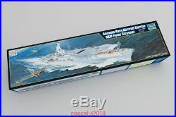 Trumpeter 1/350 05628 German Navy Aircraft Carrier Peter Strasser