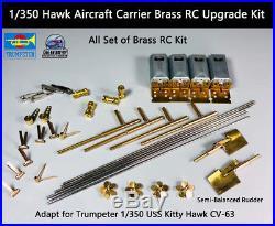 Trumpeter 1/350 Hawk Aircraft Carrier Brass RC Upgrade Kit