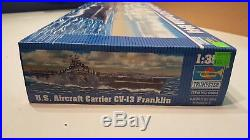 Trumpeter 1/350 Kit #05604 USS Franklin CV-13 Aircraft Carrier WW2 Sealed A-0377