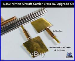 Trumpeter 1/350 Nimitz Aircraft Carrier Brass RC Upgrade Kit