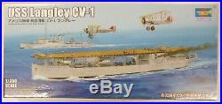 Trumpeter 1/350 USS Langley CV-1 Aircraft Carrier Model Kit WWI 5631
