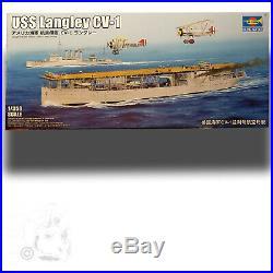 Trumpeter 1/350 Uss Langley Cv-1 (first U. S. Aircraft Carrier) Kit 05631