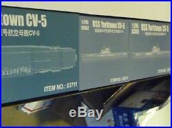 Trumpeter 1200 Yorktown Aircraft Carrier Cv-5 #03711